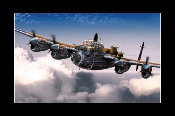 Avro Lancaster Wallpaper 600x400