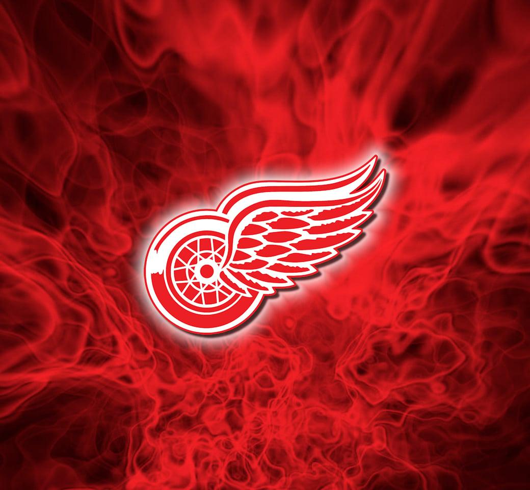 Detroit Red Wings Logo Wallpaper - WallpaperSafari Flaming tiger ...