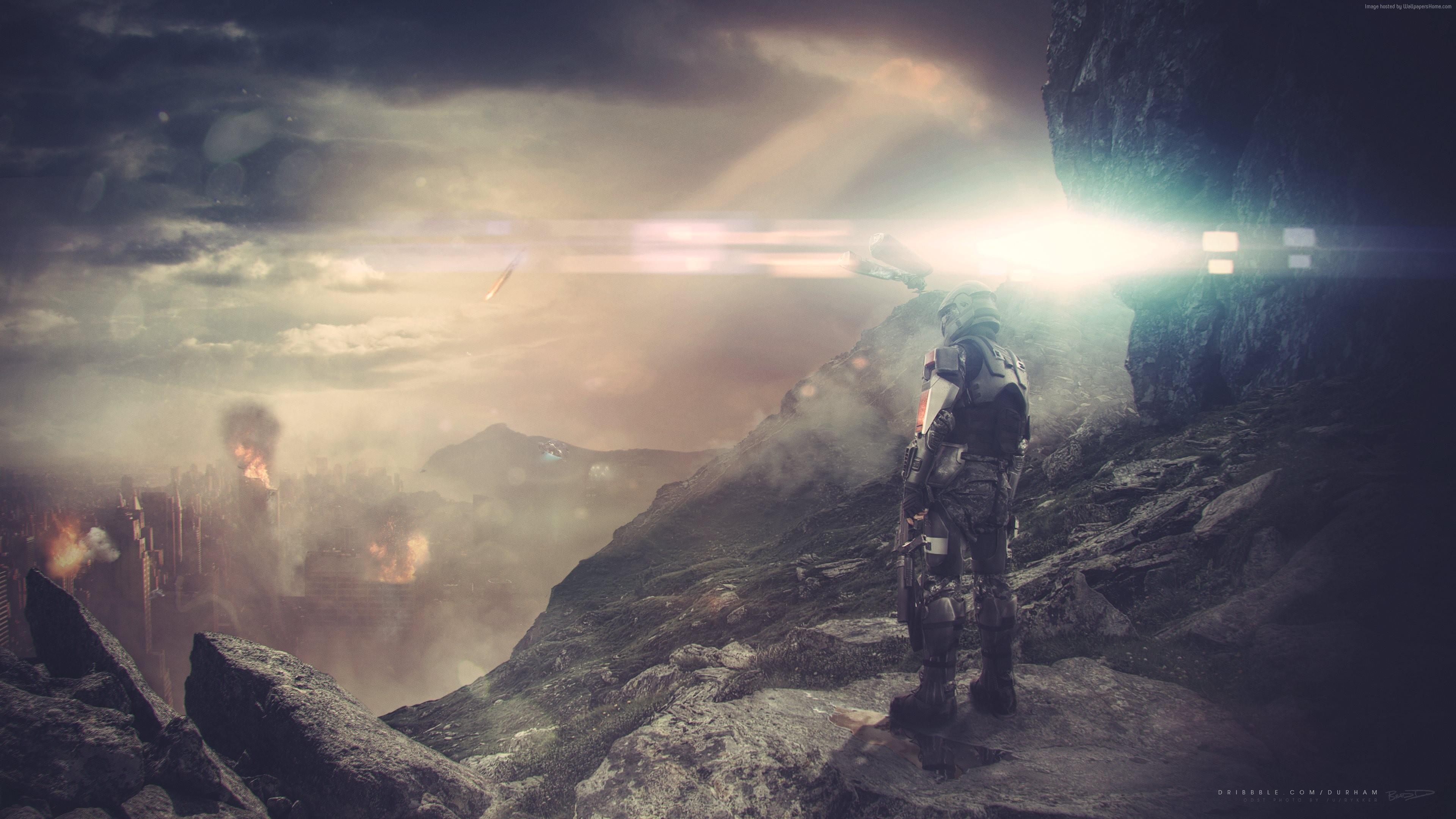 Halo 5: Guardians Wallpaper, Art / Recent: Halo 5: Guardians, game ...