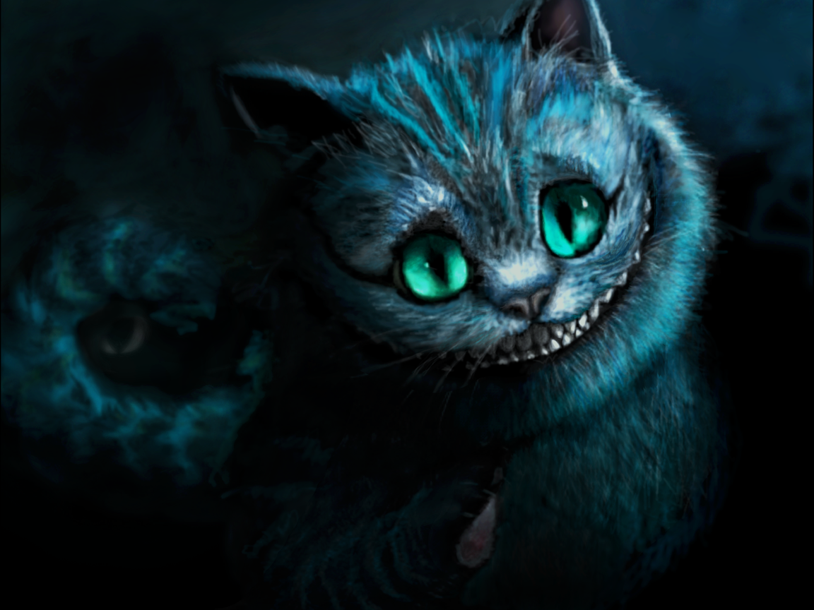 Cheshire Cat Wallpapers 1152x864