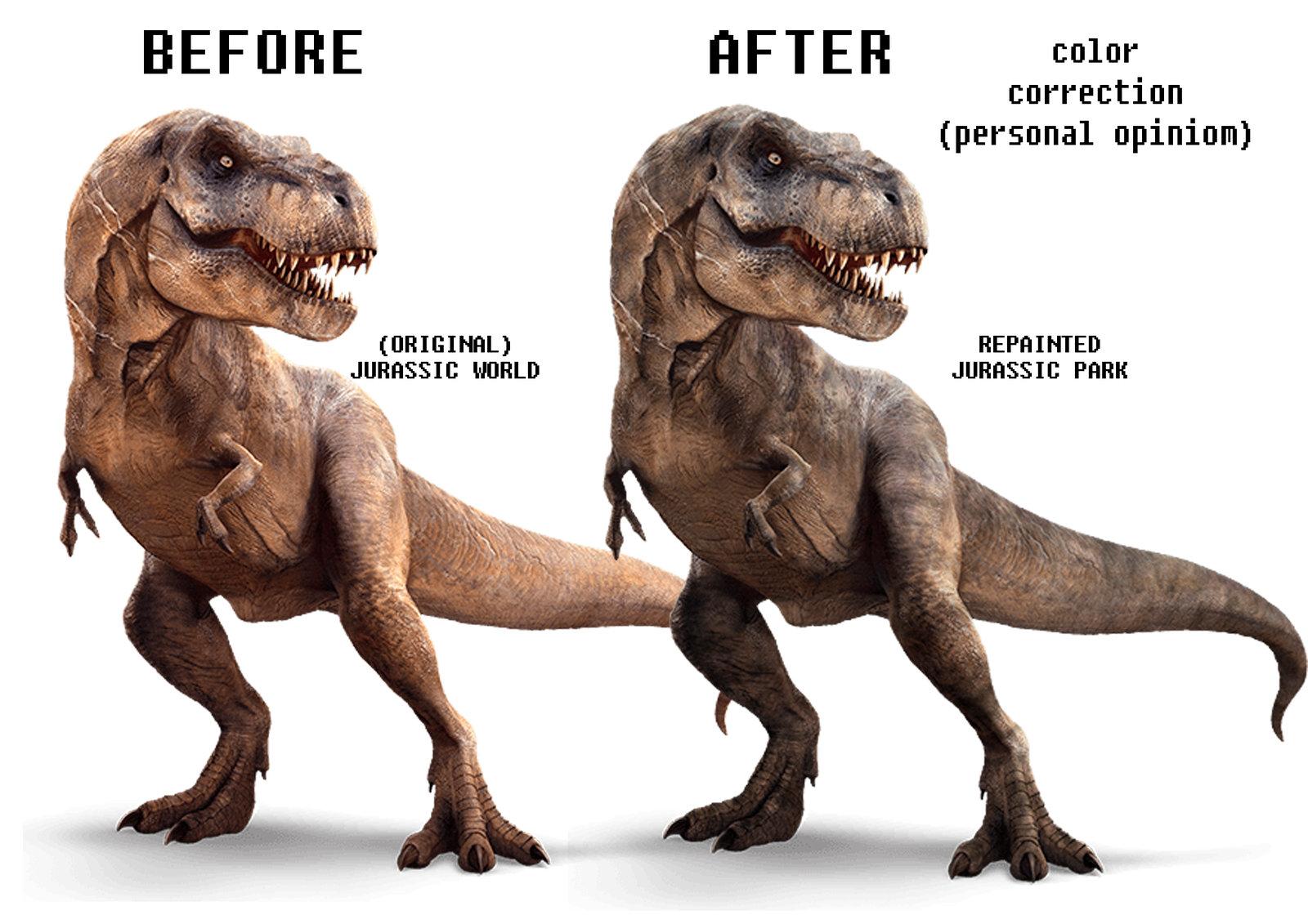 Original Jurassic World Concept Art