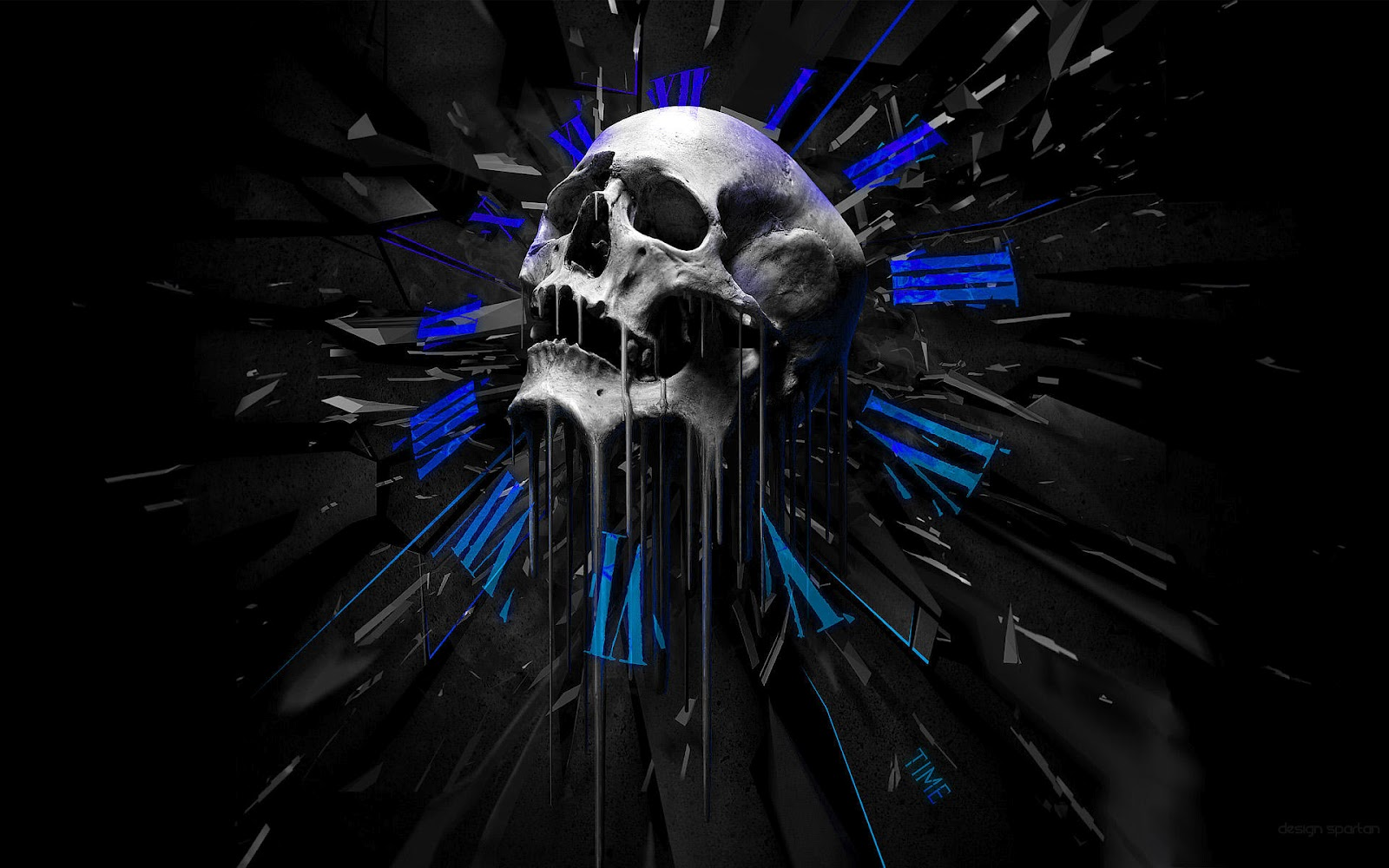 3D Skull Wallpapers HD Wallpapers 1600x1000