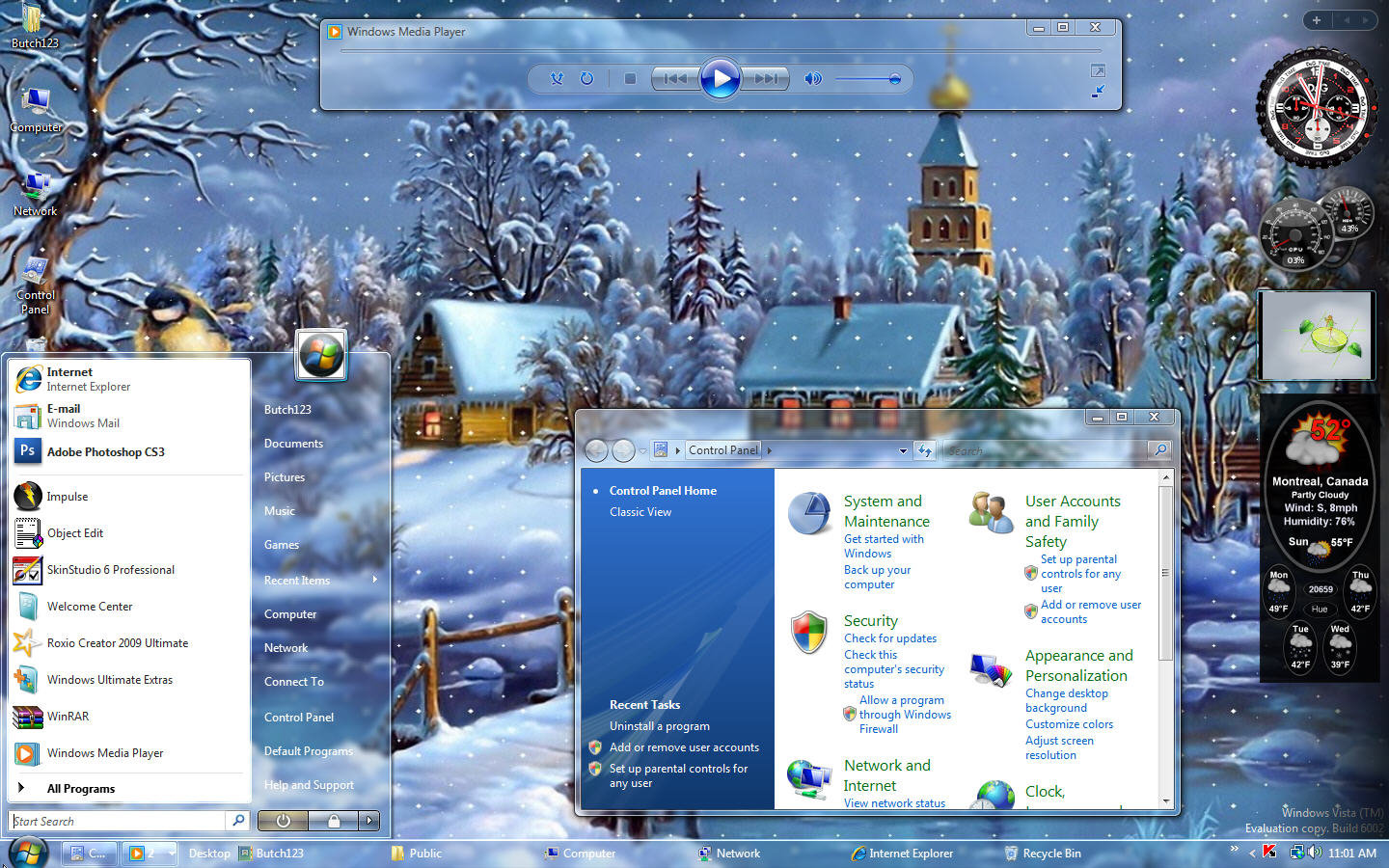 httpthemes4pcwordpresscom20121101christmas vs vista theme 1440x900