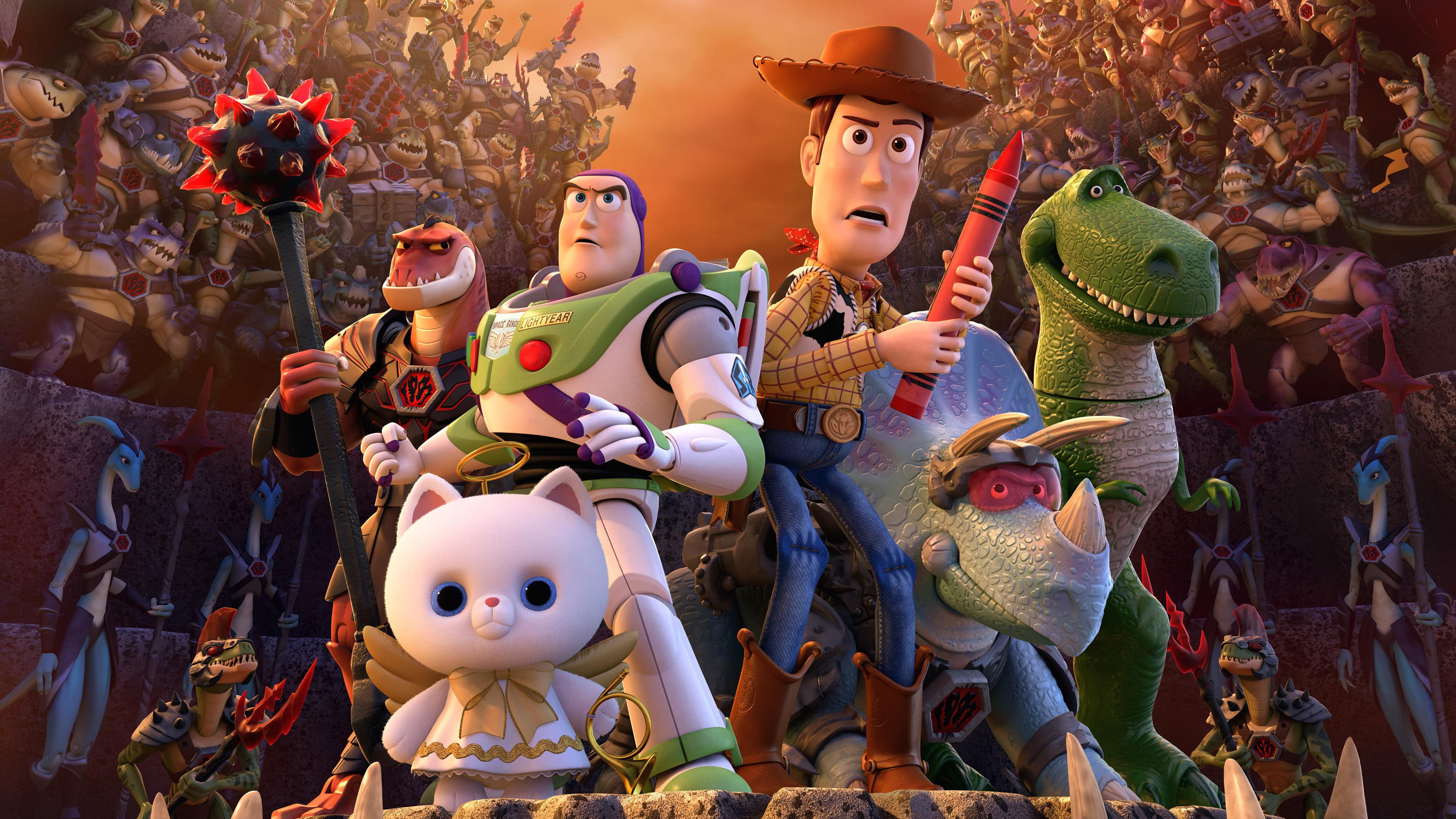 Toy Story 4 Characters UHD 4K Wallpaper Pixelz 3840x2160