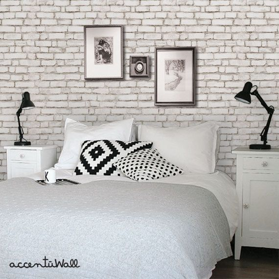 white brick wallpaper ideas 2016   Textured Brick Wallpaper 570x570