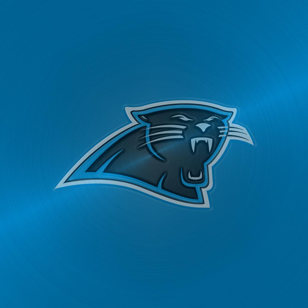 Carolina Panthers Team Logo iPad Wallpapers Digital Citizen 1024x1024