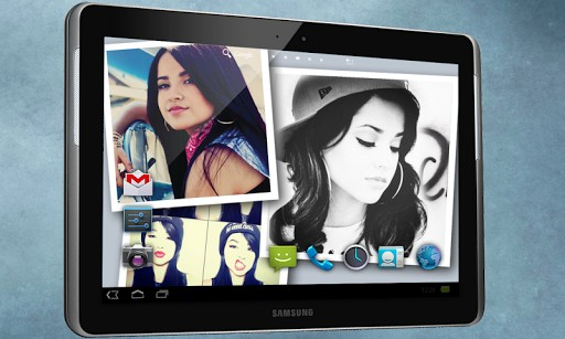This app finds the latest pictures for Becky G on the whole web and 512x307