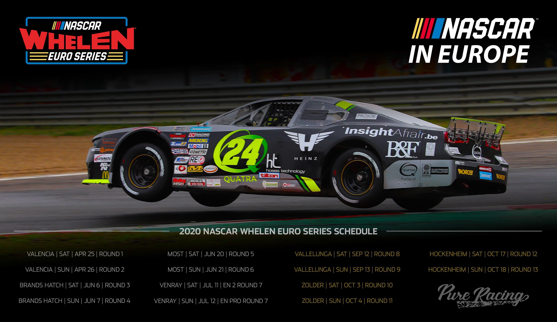 Wallpapers   NASCAR Whelen Euro Series 3000x1734