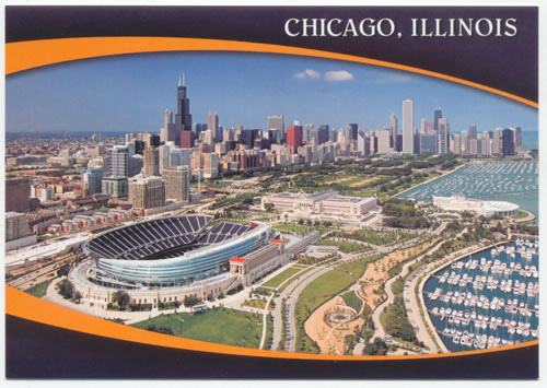 Chicago Soldier Field Arial Flickr   Photo Sharing 500x355