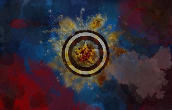 Wallpaper captain america shield marvel wallpapers fantasy 596x380