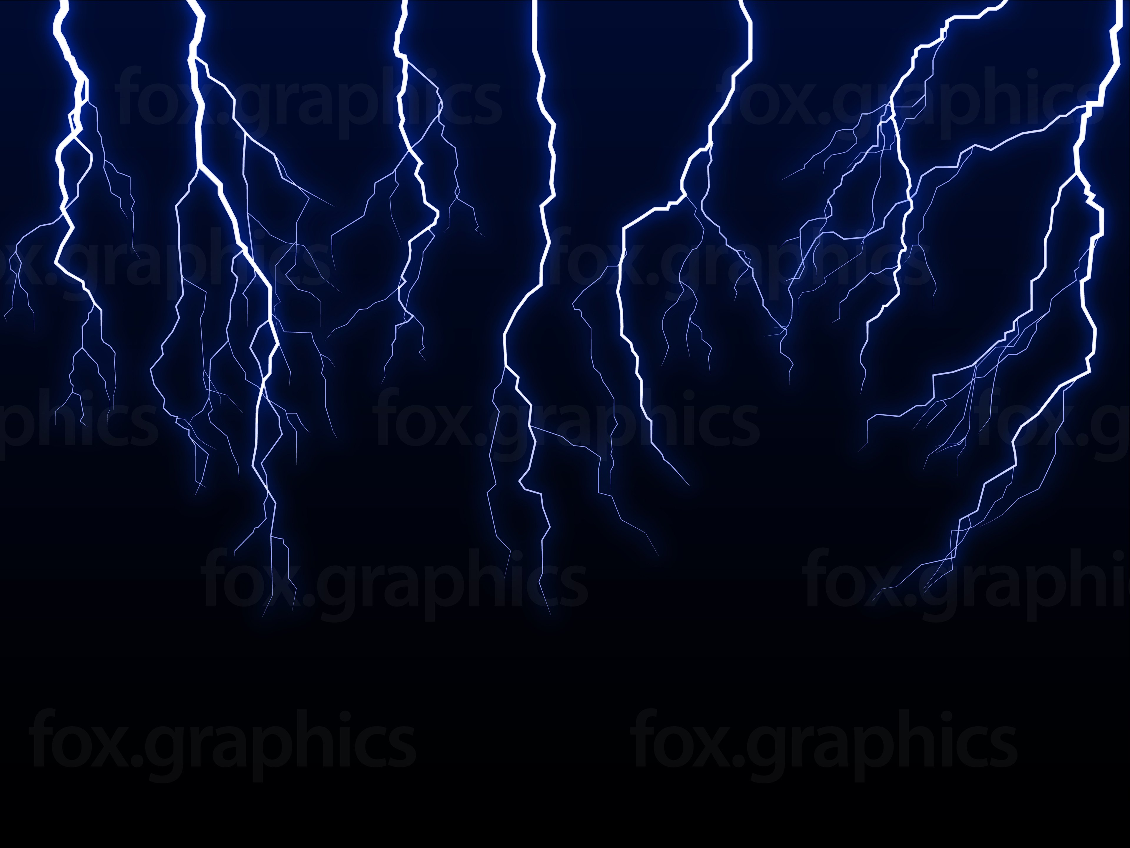 Lightning Bolt ... Red Fox Illustration