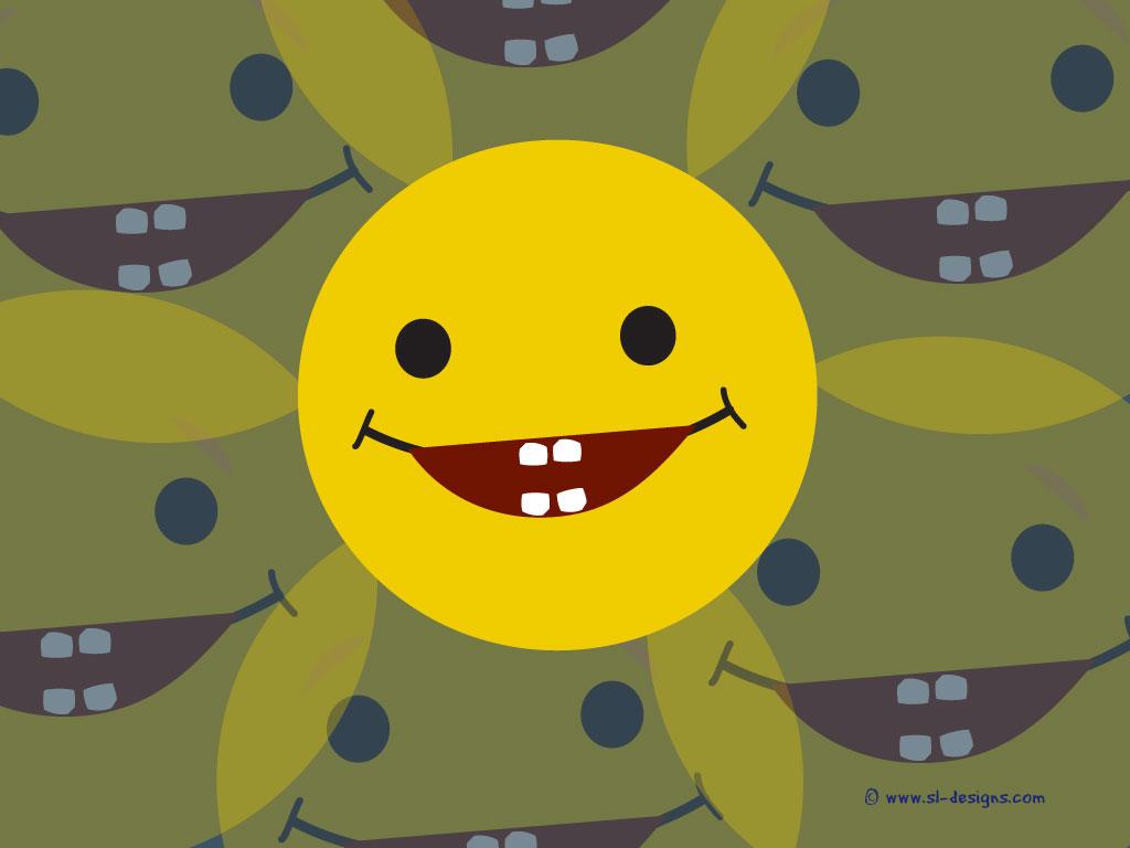 Smiley Face Wallpaper For Desktop 1024x768