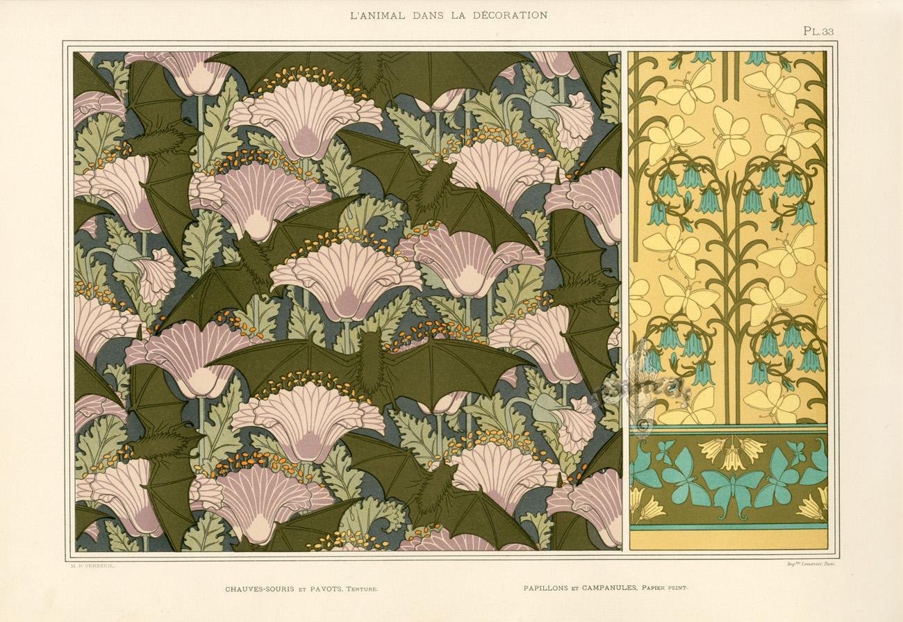 Bat and poppy wallpaper wallpapersafari - Bat and poppy wallpaper ...