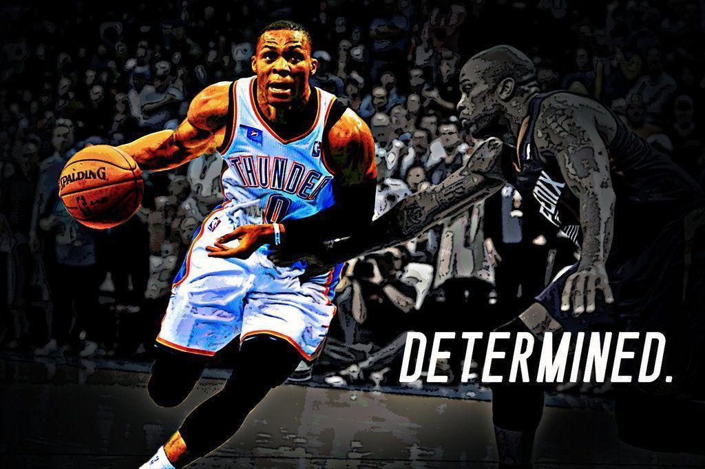 Kevin Durant And Russell Westbrook 2017 Wallpapers 1024x681