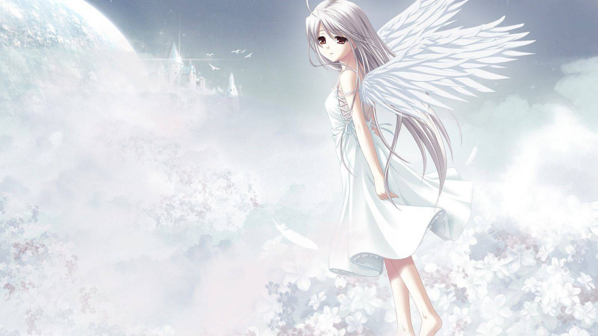Cute Anime Angel Girl HD Wallpaper   Stylish HD Wallpapers 1920x1080