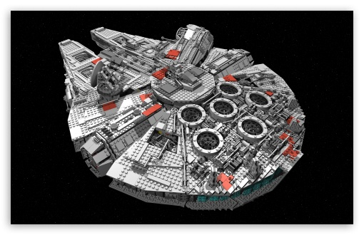 Star Wars Spaceship Millenium Falcon HD wallpaper for Standard 43 54 510x330