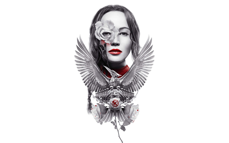 Drawing of Katniss Everdeen as a mockingjay Wallpaper ID2260 2880x1800