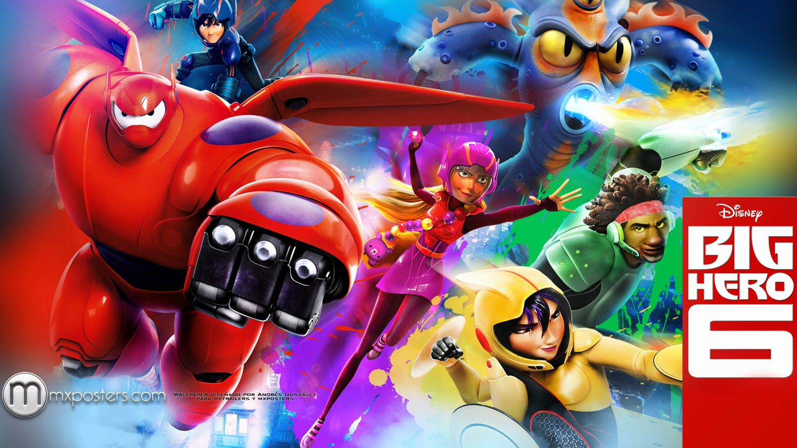 Big Hero 6 Wallpapers 2014 Disney Wallpaper Movies 83499 high 1600x900