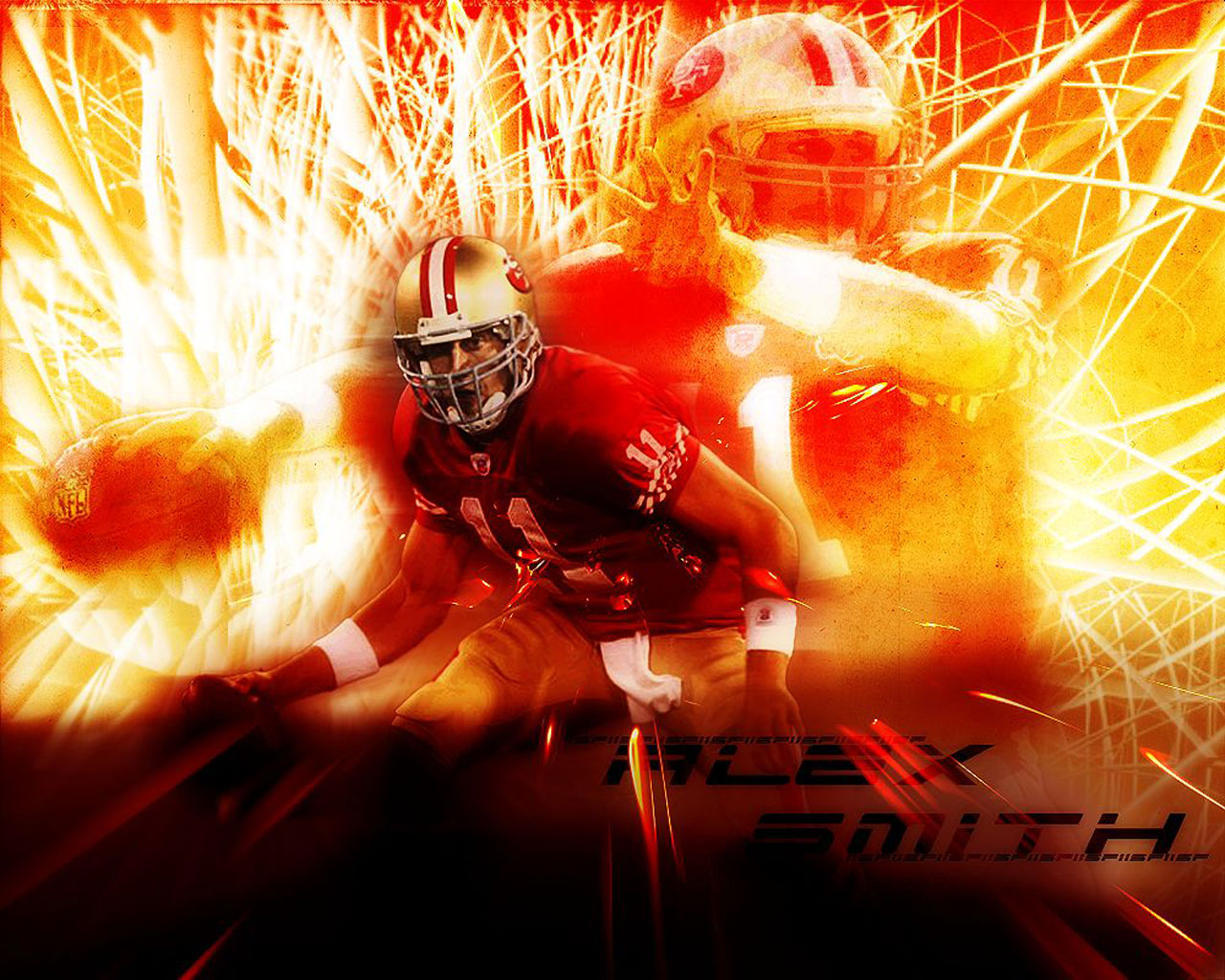 49ers Alex Smith Wallpaper in HD Wide High Definition Wallpapers For 1280x1024