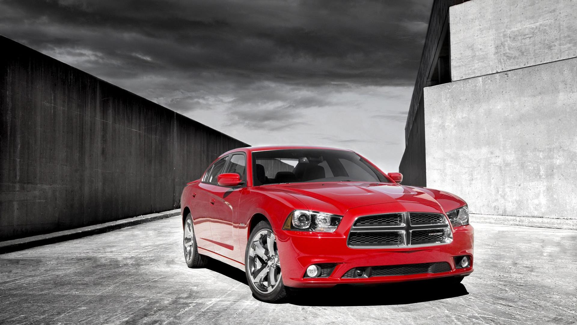 2012 dodge charger rt red wide hd wallpaper   5676   HQ Desktop 1920x1080