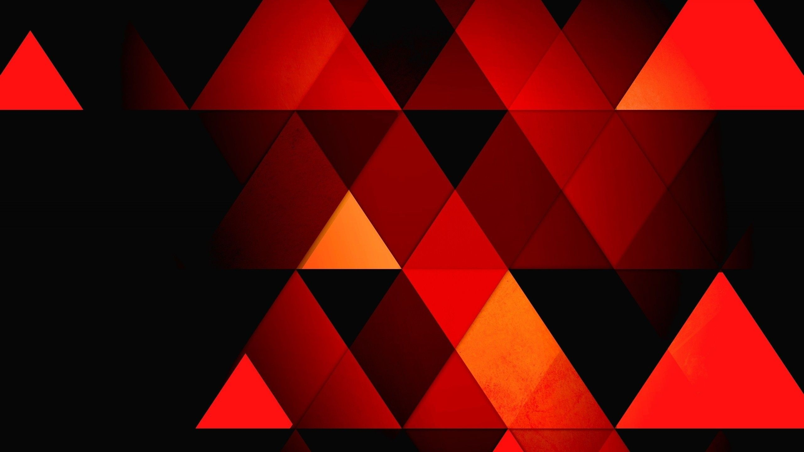 Orange Geometric Wallpapers   Top Orange Geometric 2560x1440