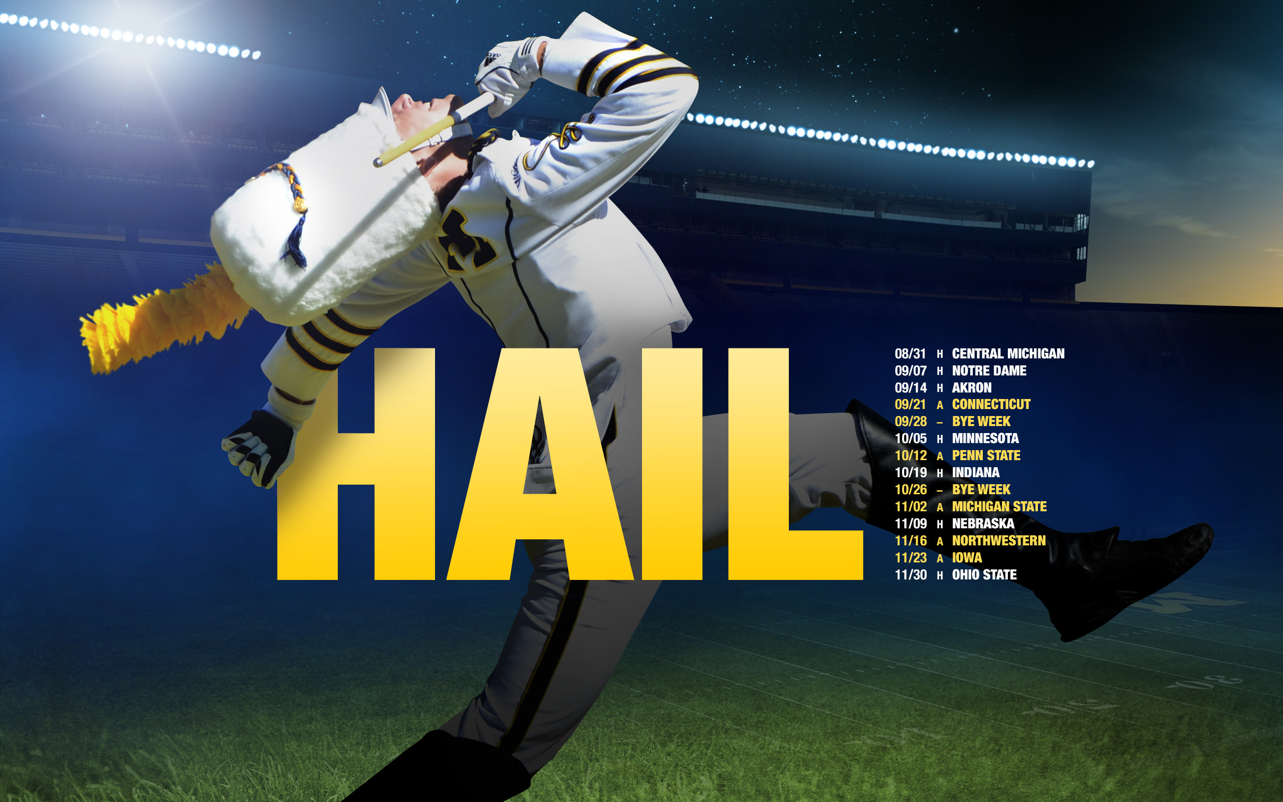 image about Michigan Football Schedule Printable titled 49+] Michigan Soccer Routine 2015 Wallpaper upon