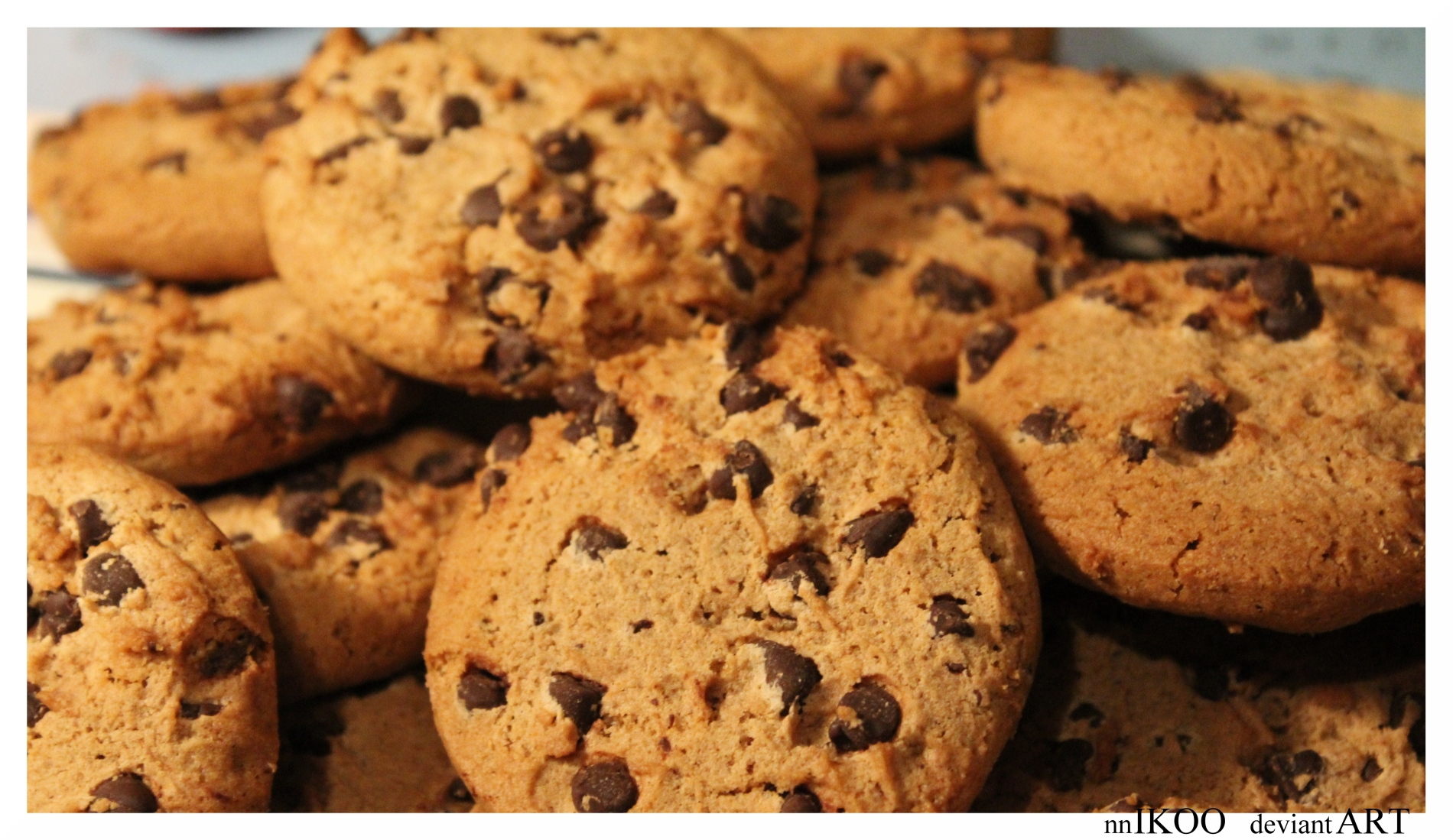 chocolate chip cookie wallpaper - photo #21