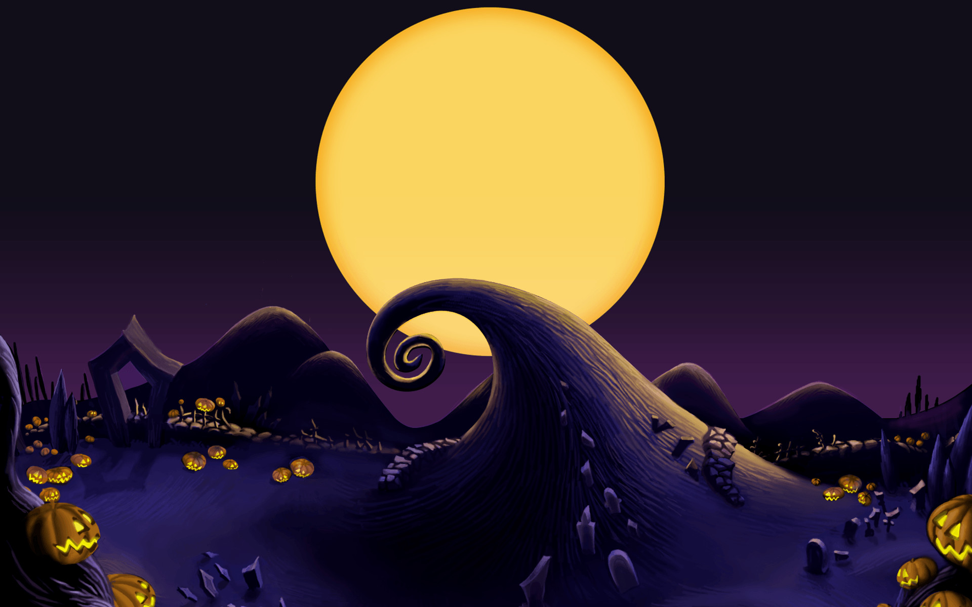 Nightmare Before Christmas Backgrounds 61 pictures 1920x1200