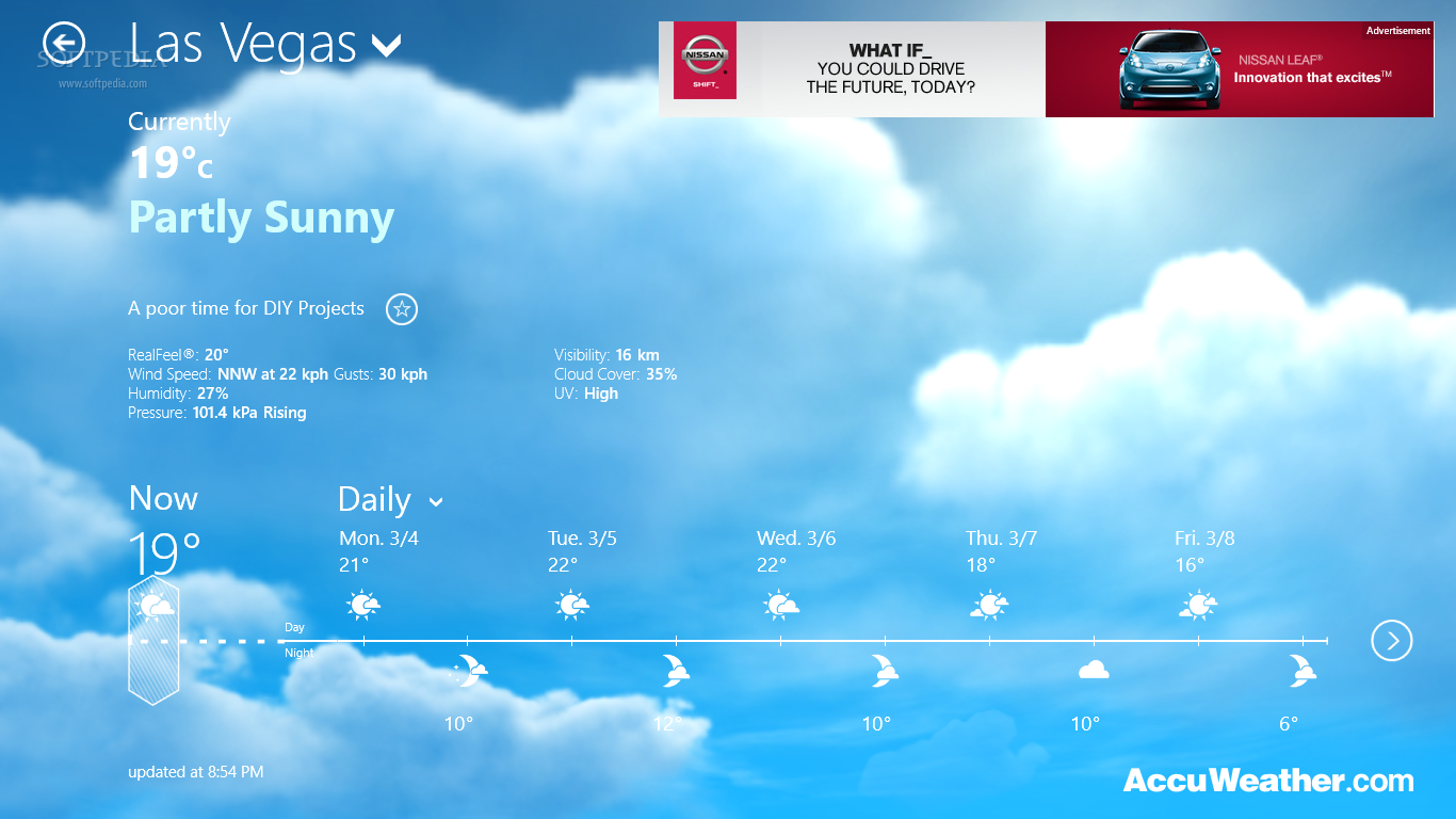 Download AccuWeather for Windows 8 Review [1366x768] | 50+ Weather