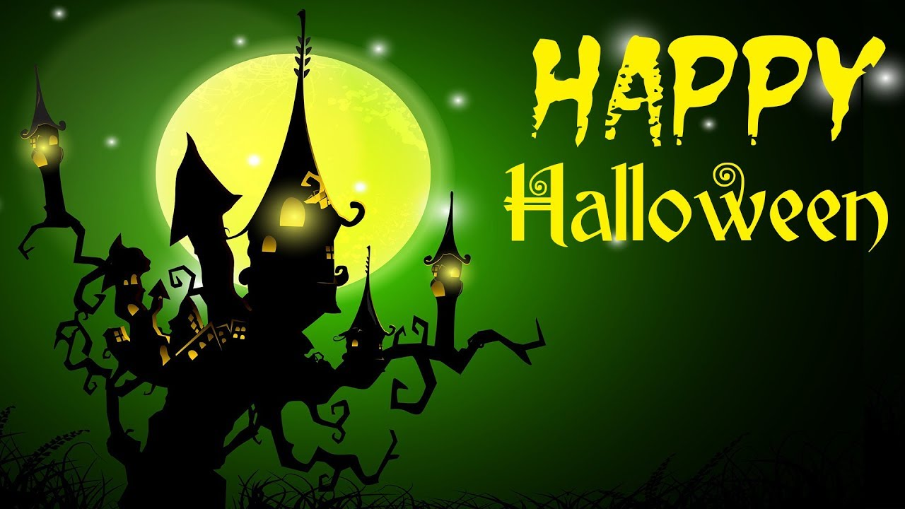 Happy Halloween Music   Spooky and Fun Halloween Background 1280x720
