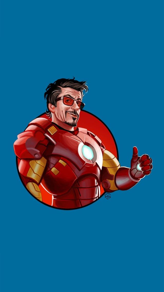 Iron man active wallpaper wallpapersafari - Iron man cartoon wallpaper ...