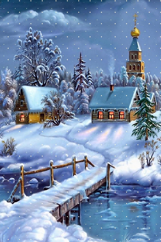 Winter scenes wallpaper for iphone wallpapersafari - Beautiful country iphone backgrounds ...