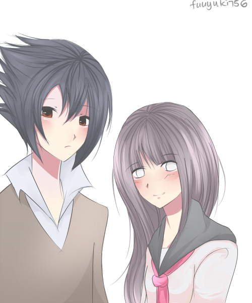 Sasuke And Hinata Graphics Pictures Images for Myspace Layouts 500x600