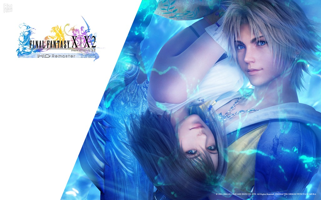 Final Fantasy X X 2 HD Remaster released and its BEAUTIFUL 1024x640