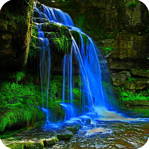 related pictures tags waterfalls live wallpaper mobile theme download 512x512