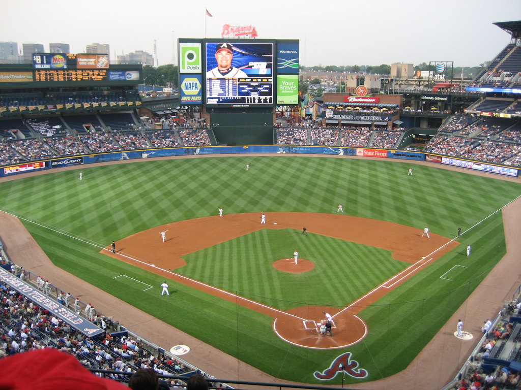 Turner Field With images Braves 1024x768