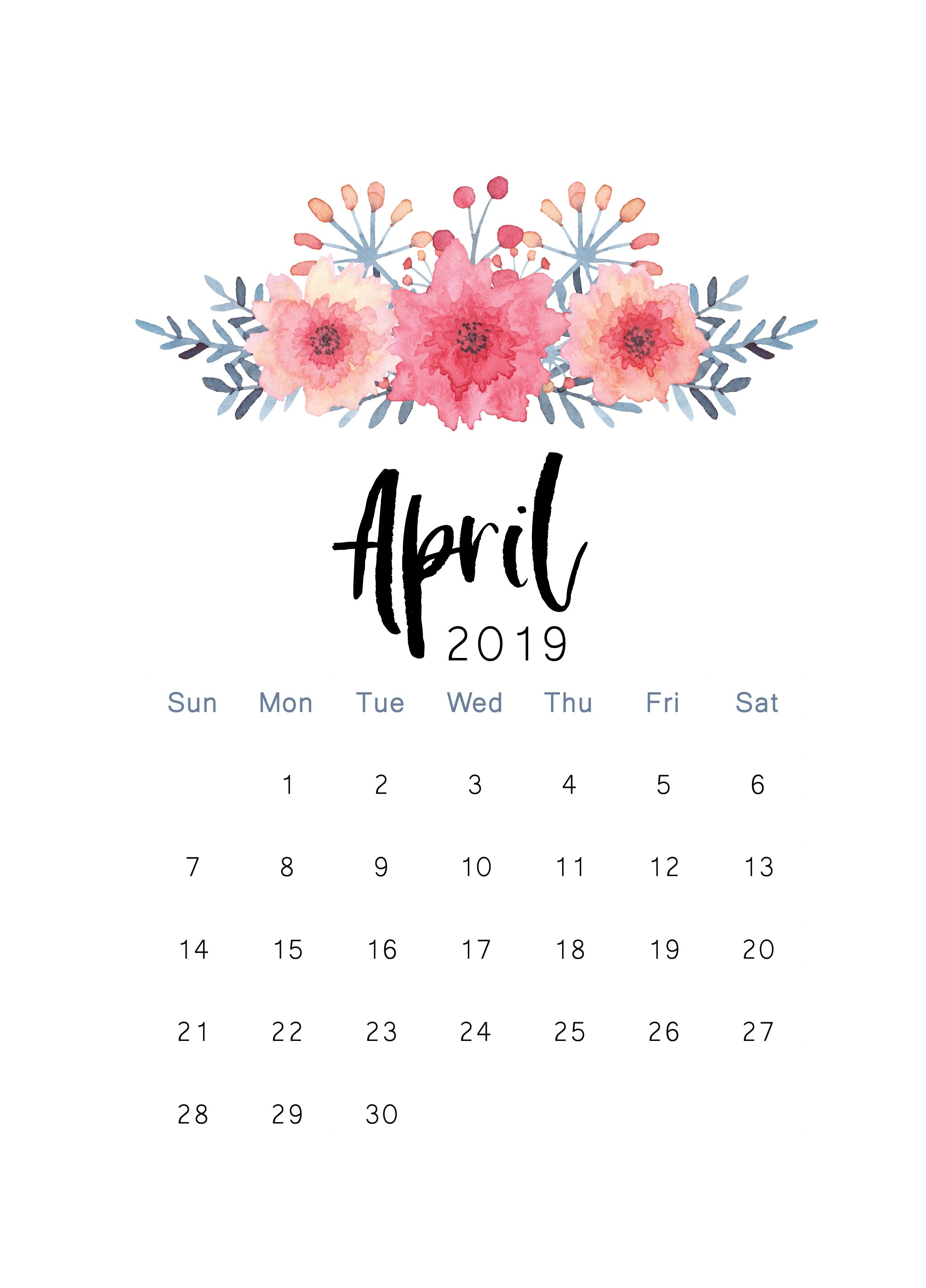 54 April 2020 Calendar Wallpapers On Wallpapersafari
