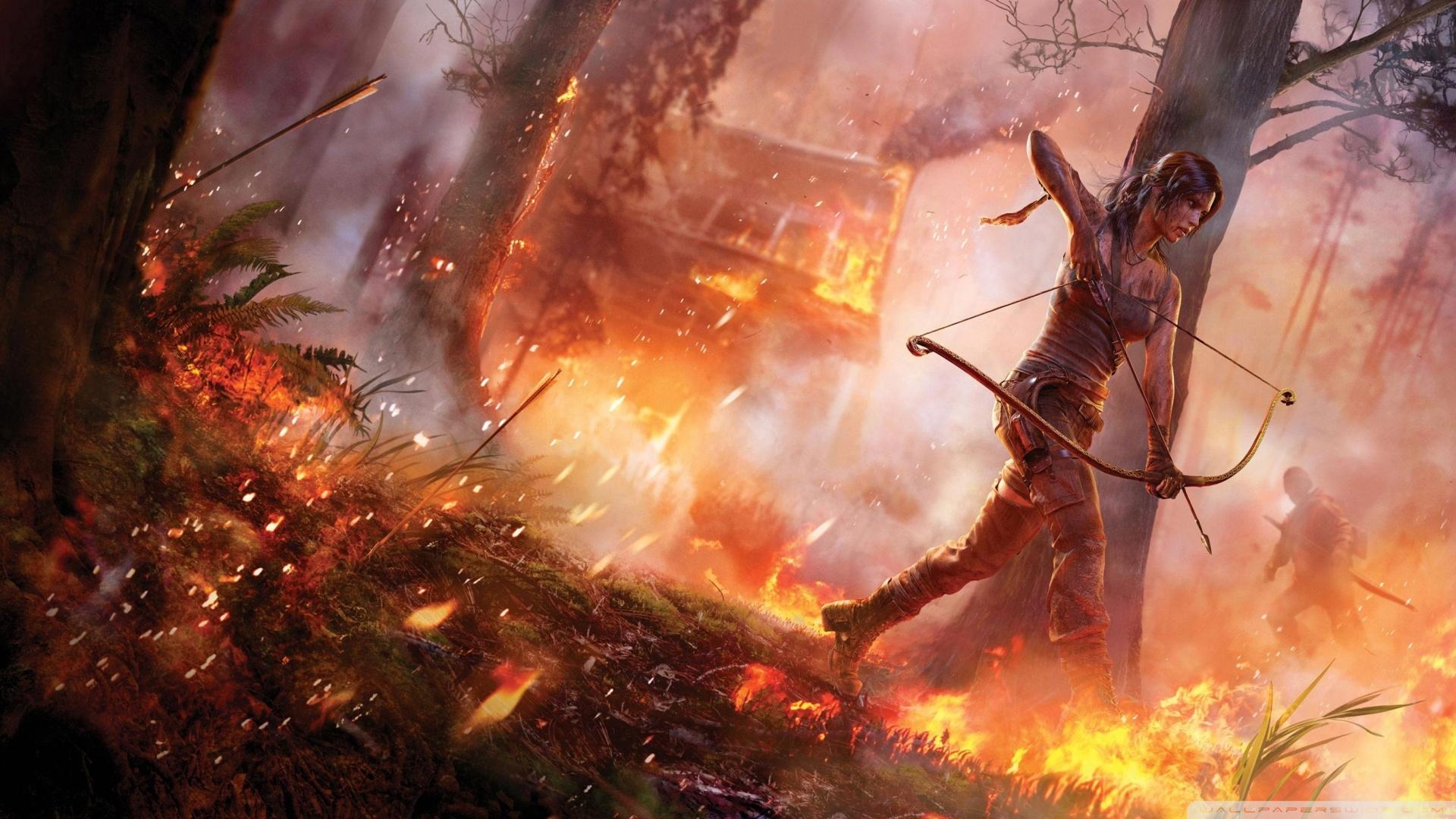 Tomb Raider 2014 Wallpaper 1920x1080 Tomb Raider 2014 1920x1080