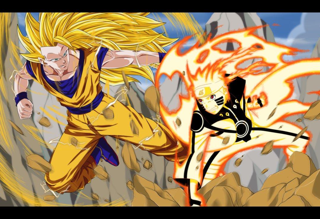 Goku Naruto Ichigo Natsu My Wallpaper 1080x739