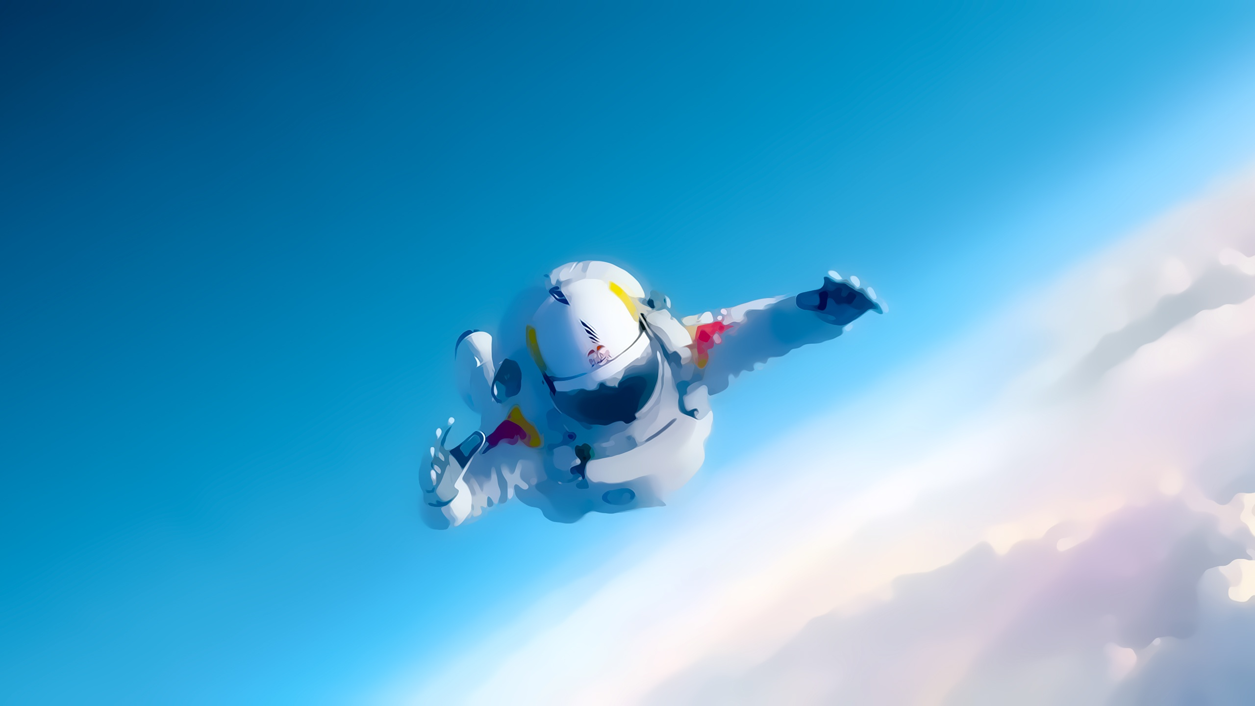 Red Bull Stratos 2560 x 1440 Download Close 2560x1440