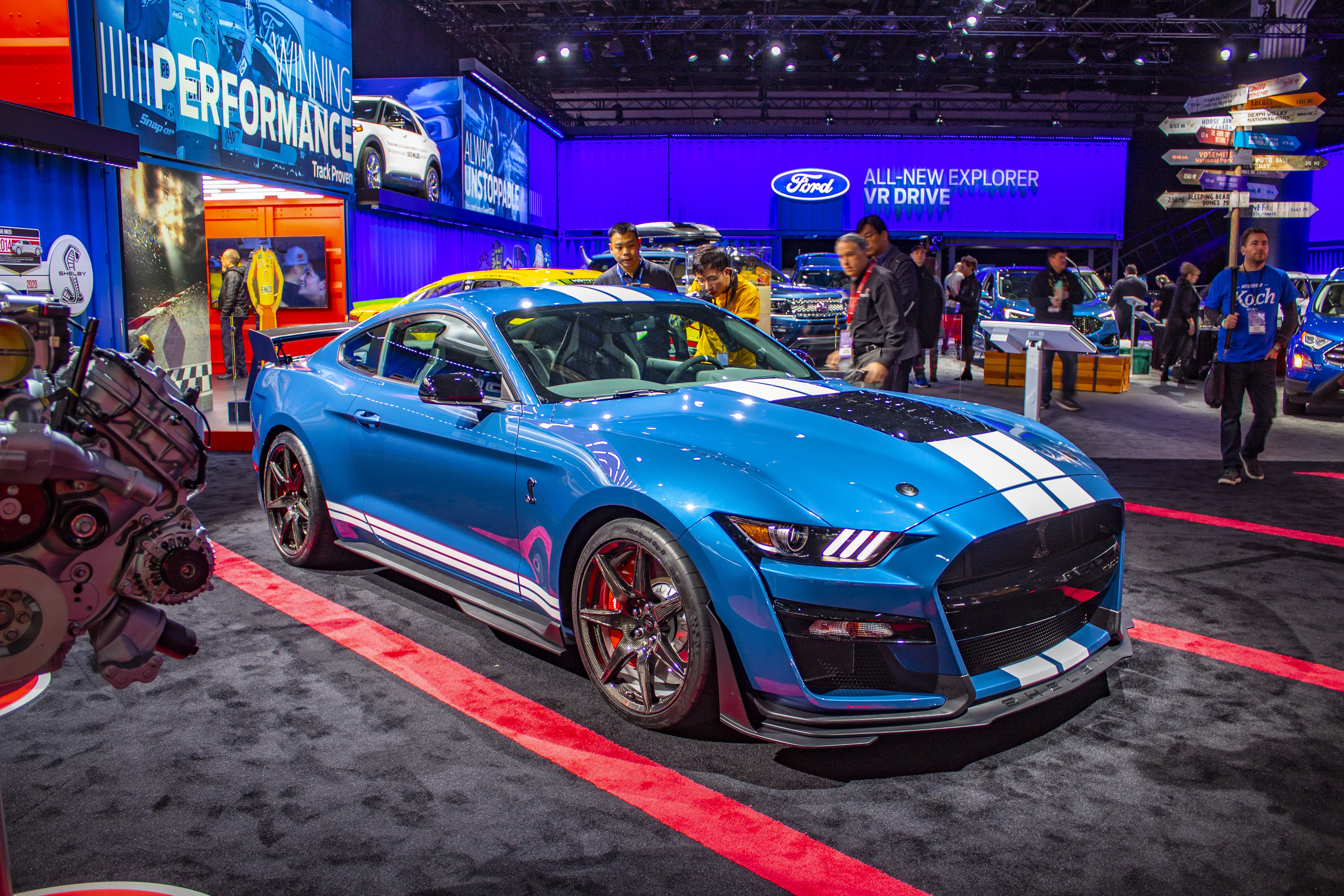 2020 Ford Mustang Shelby Gt500 Pictures Photos Wallpapers   2020 5184x3456