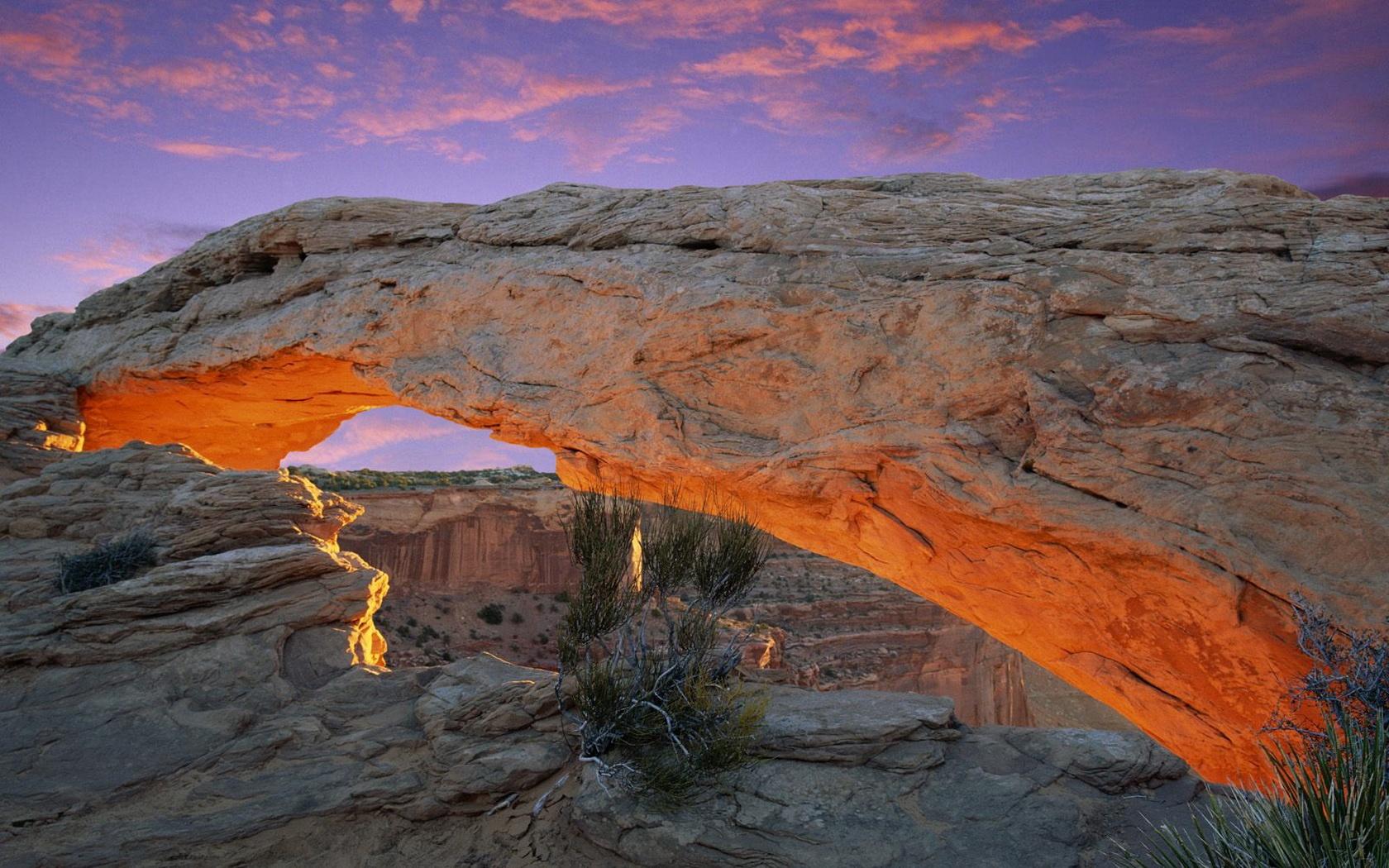 Canyonlands National Park canyonlands gray national park nature 1680x1050