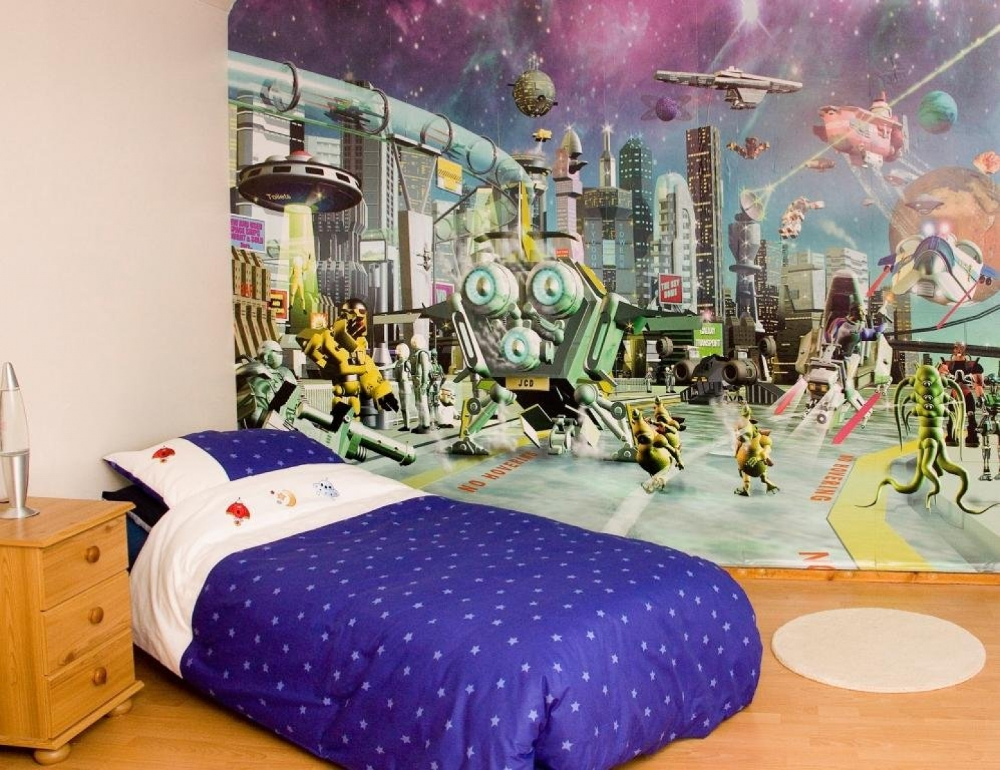 Kids Room Wallpaper Ideas: Cartoon Inspiration By Homecaprice.com Part 47