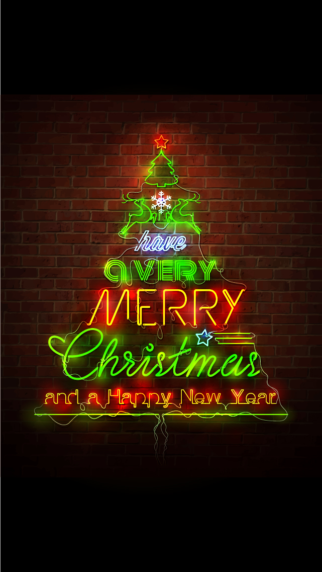 46 Merry Christmas Wallpaper For Iphone On Wallpapersafari