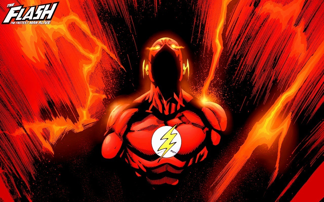 Download Superhero Science Fiction Wallpaper The Flash 1280x800