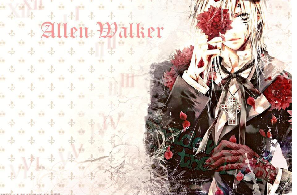 allen walker wallpaper wallpapersafari