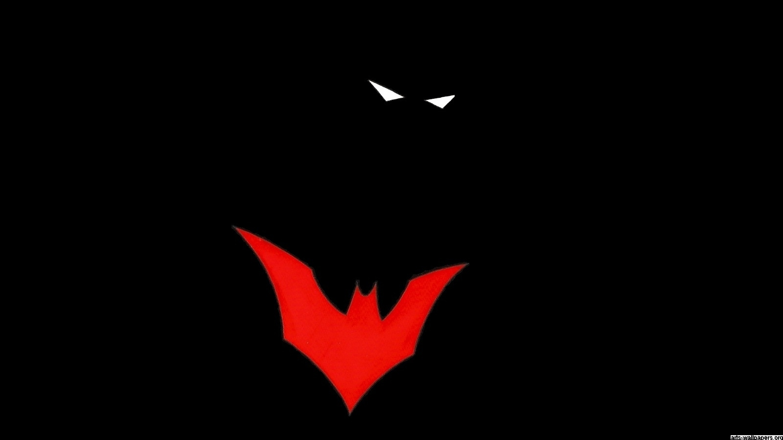 Batman Beyond Wallpaper - WallpaperSafari  Batman Beyond Logo Wallpaper Hd