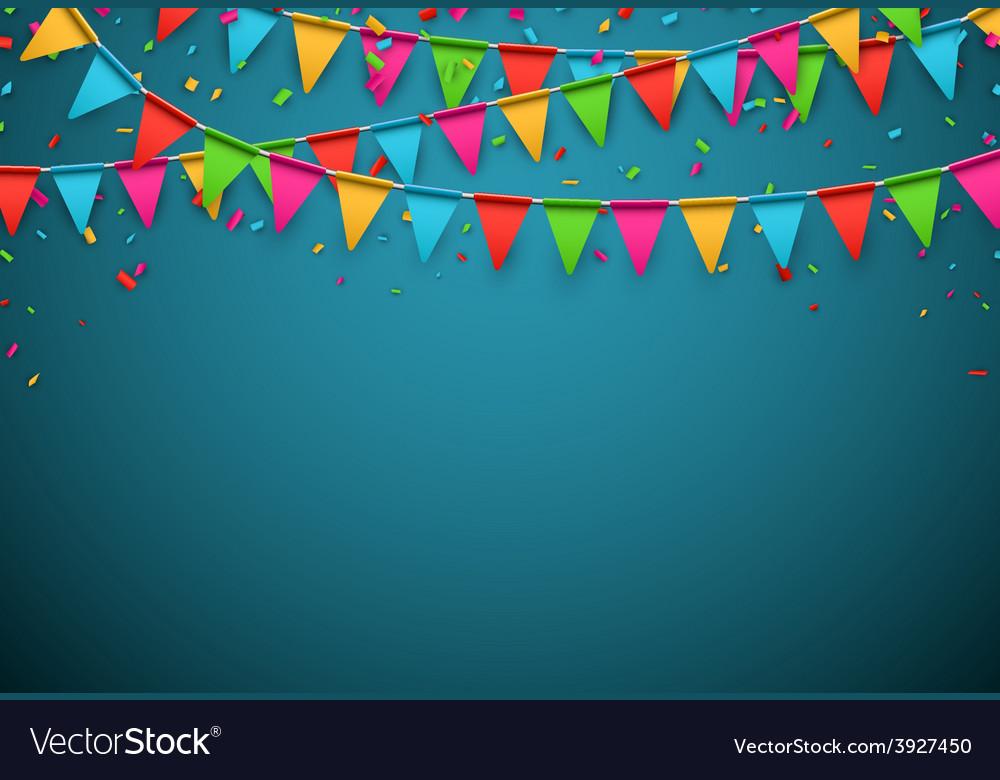 Party celebration background Royalty Vector Image 1000x780