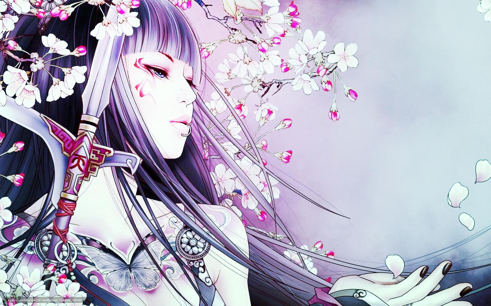 Geisha Girl Wallpaper Wall Wallpapersafari