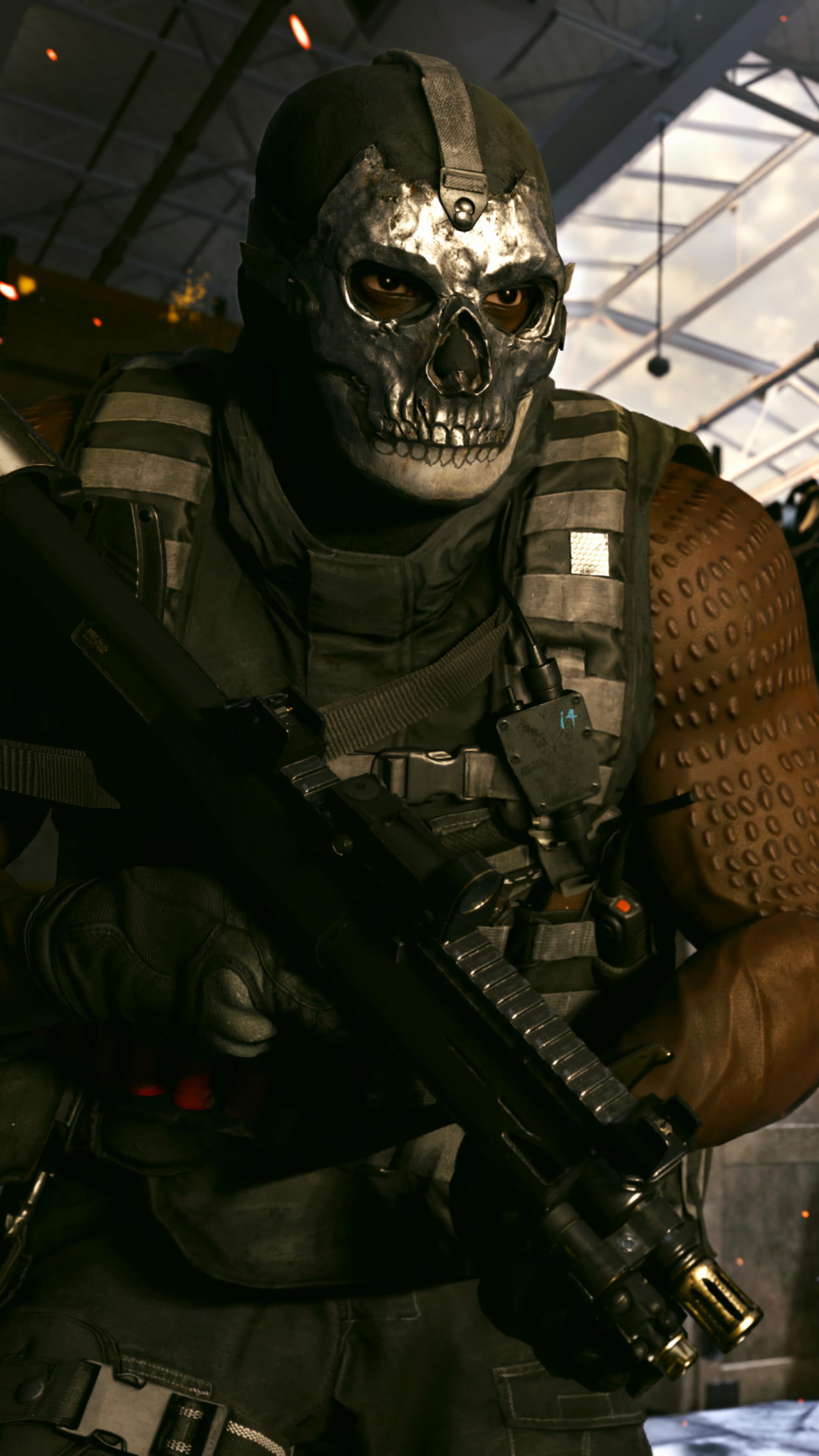 323043 Ghost COD Modern Warfare Season 2 Soldiers 4K Iphone 10 2160x3840